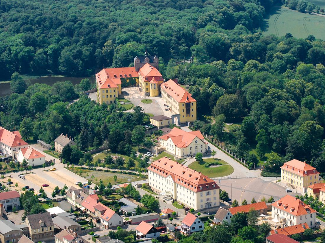 Hotelaanbieding Duitsland Luchtfoto