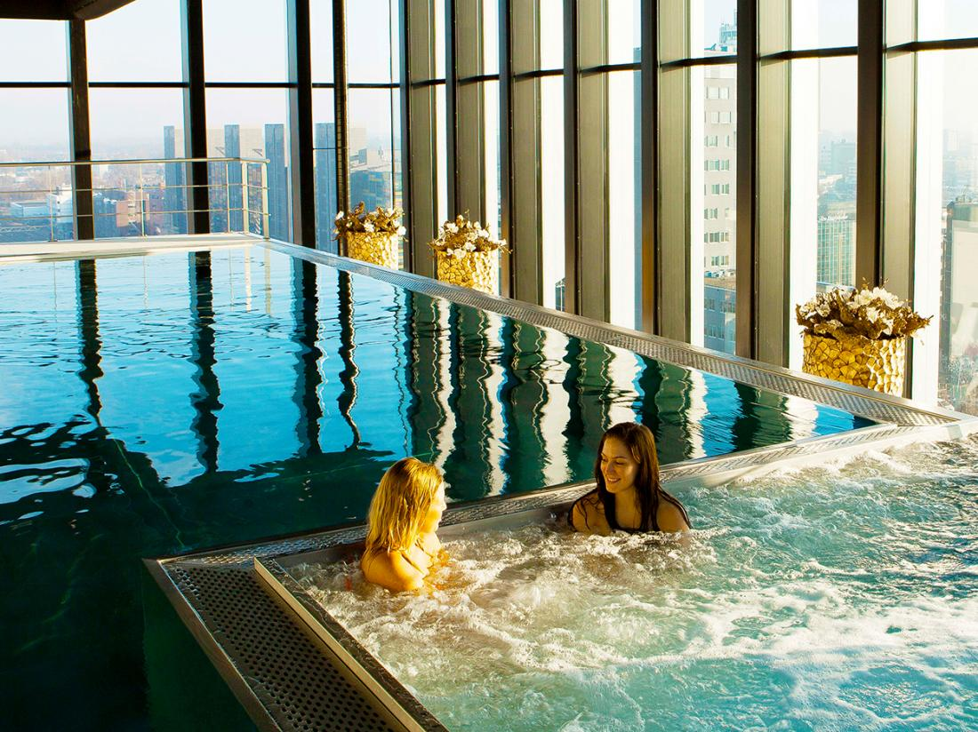 Hotel City Resort Hotel Leiden Zwembad