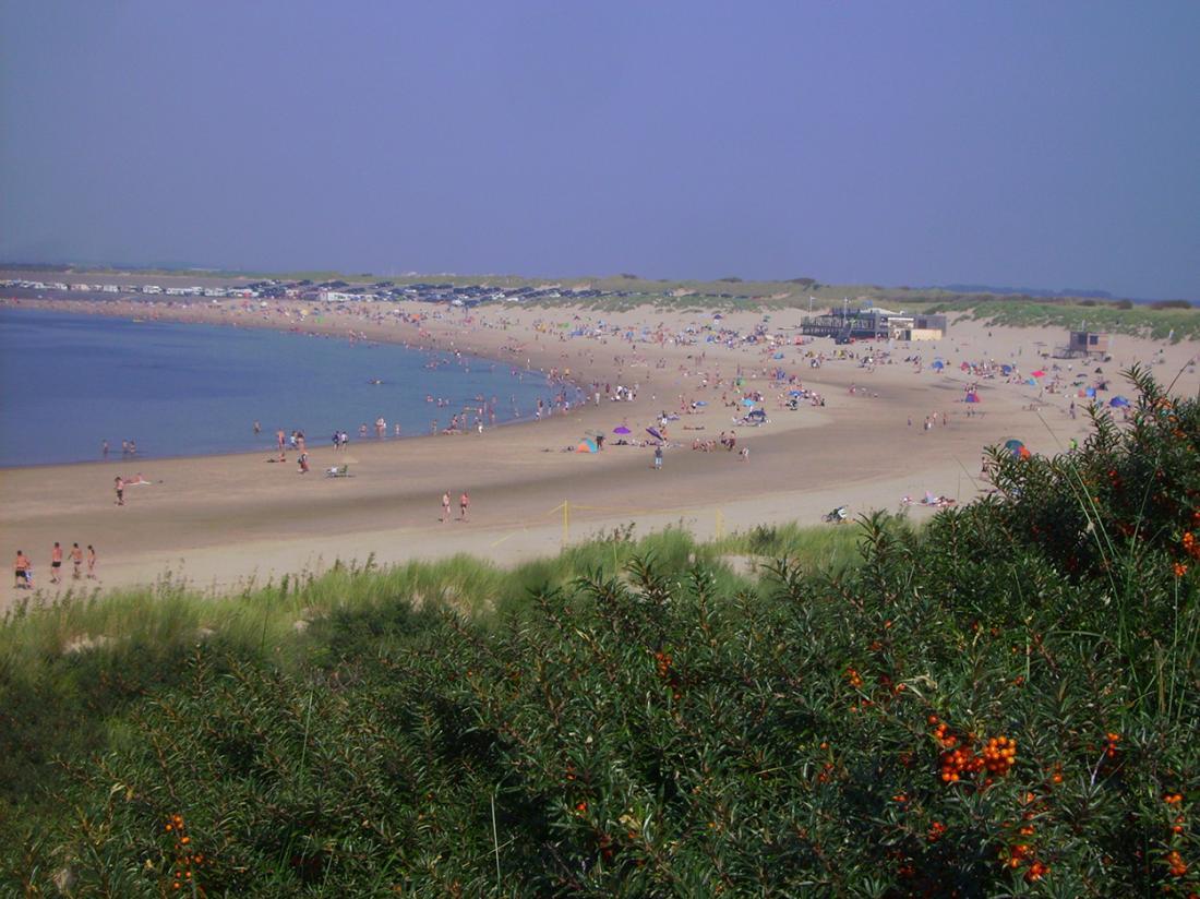 Resort land en zee scharendijke exterieur omgeving strand