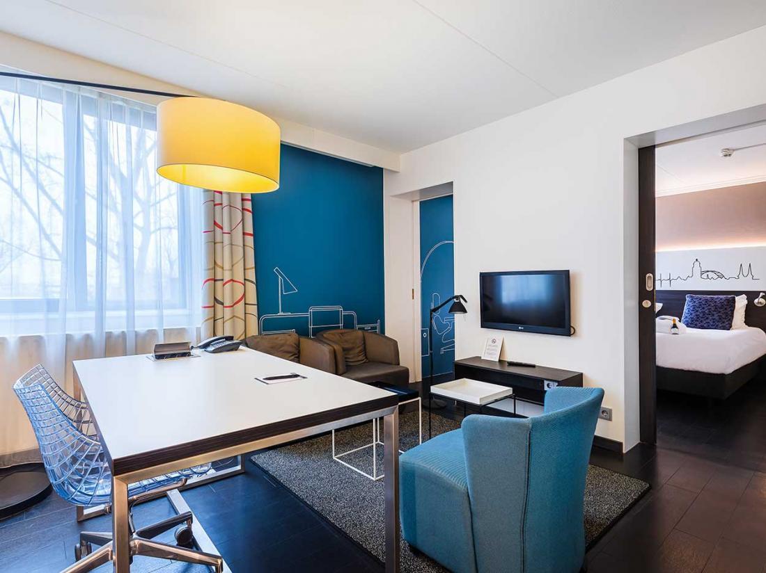 Omgeving deventer hotelaanbieding Postillion Hotel Deventer suite