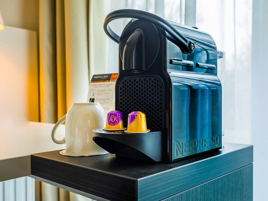Postillion Hotel Deventer hotelaanbieding koffie