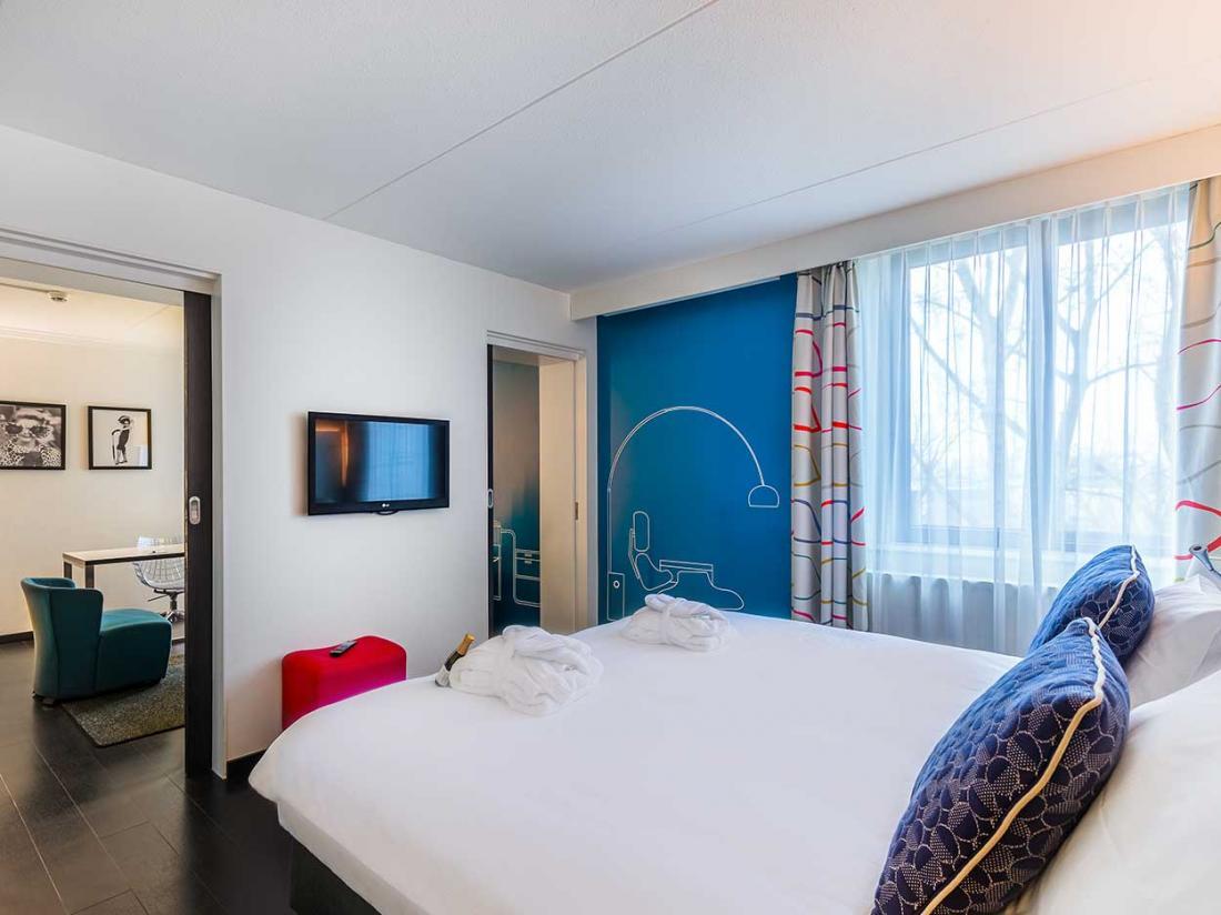 Postillion Hotel Deventer hotelkamer