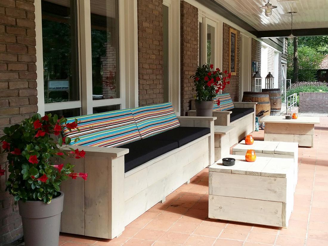 Landgoed Hotel Woodbroke Exterieur Overdekt Terras