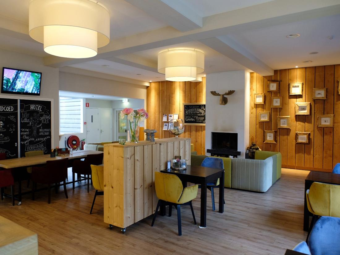 Landgoed Hotel Woodbroke Interieur Lounge Bar