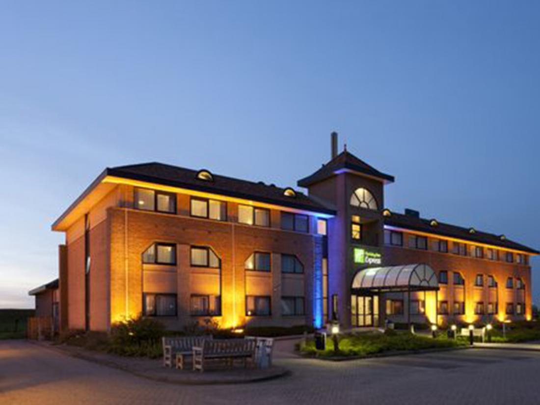 Port of Moerdijk Moerdijk Noord Brabant Hotel Avond