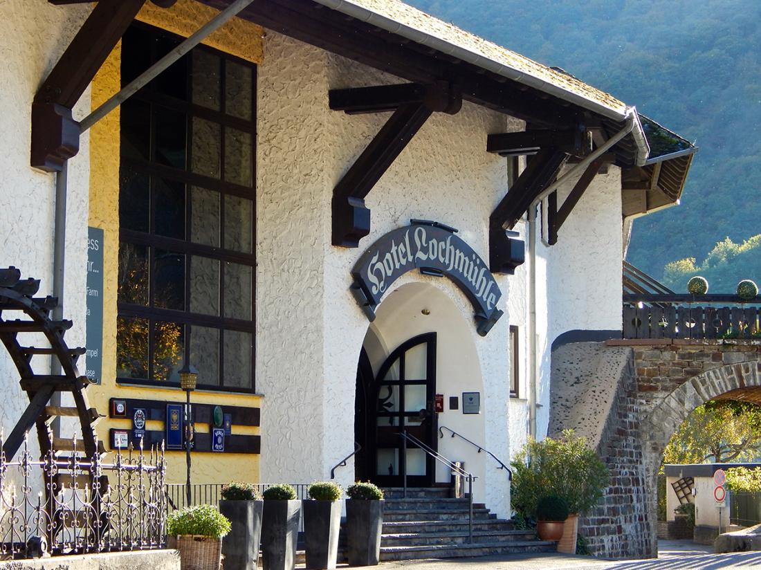 Hotel Lochmuhle Mayschoss Buiten aanzicht
