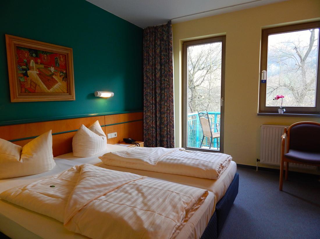 Hotel Lochmuhle Mayschoss standaard kamer met balkon