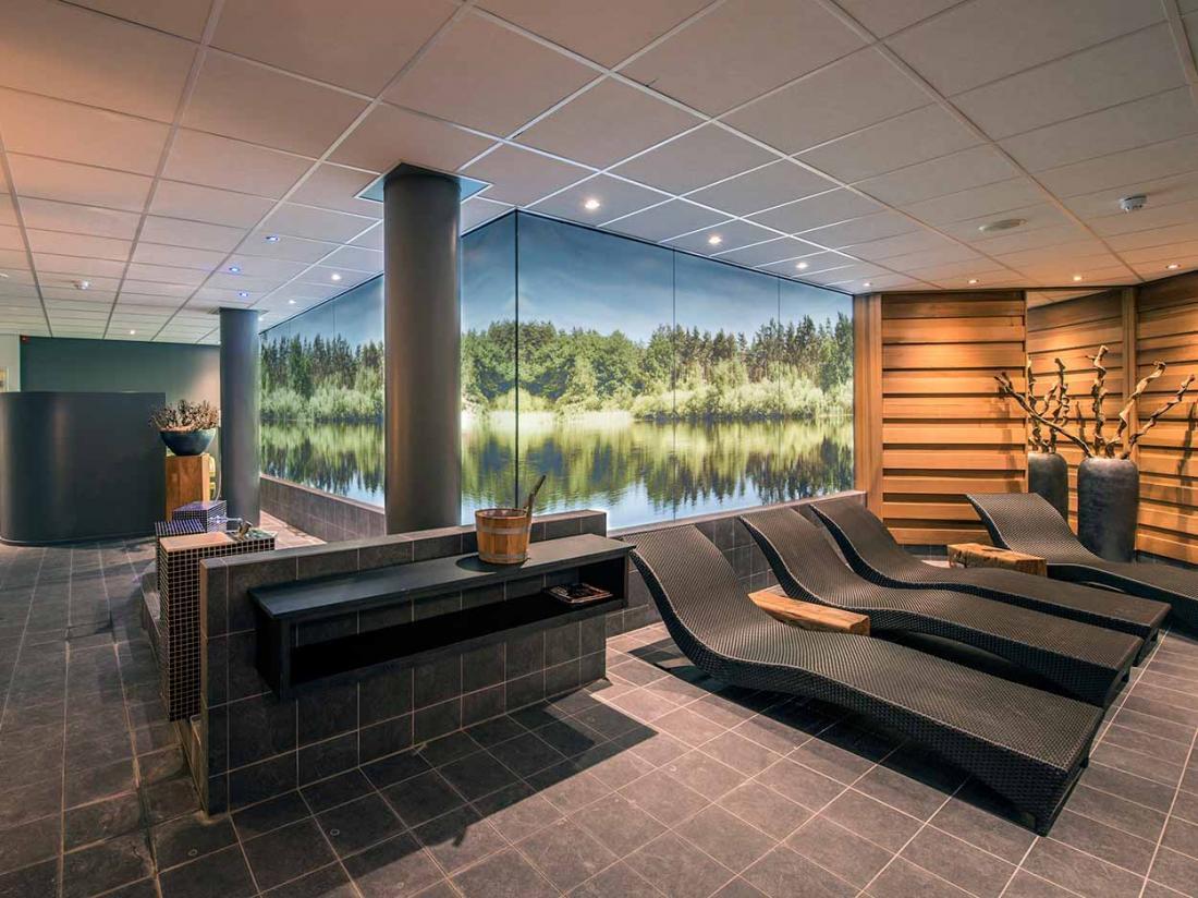 Boshotel Vlodrop Limburg Hotel Interieur Sauna
