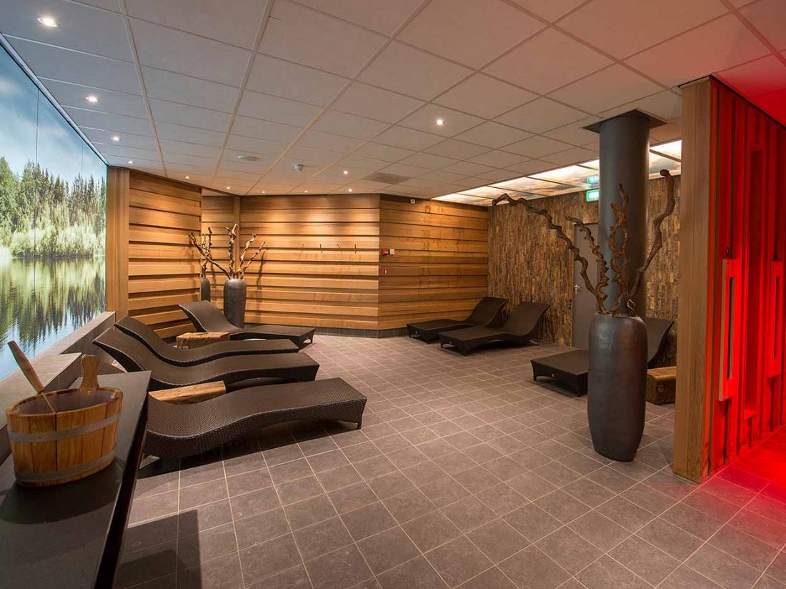 Boshotel Vlodrop Limburg Hotel Interieur Saunalandschap