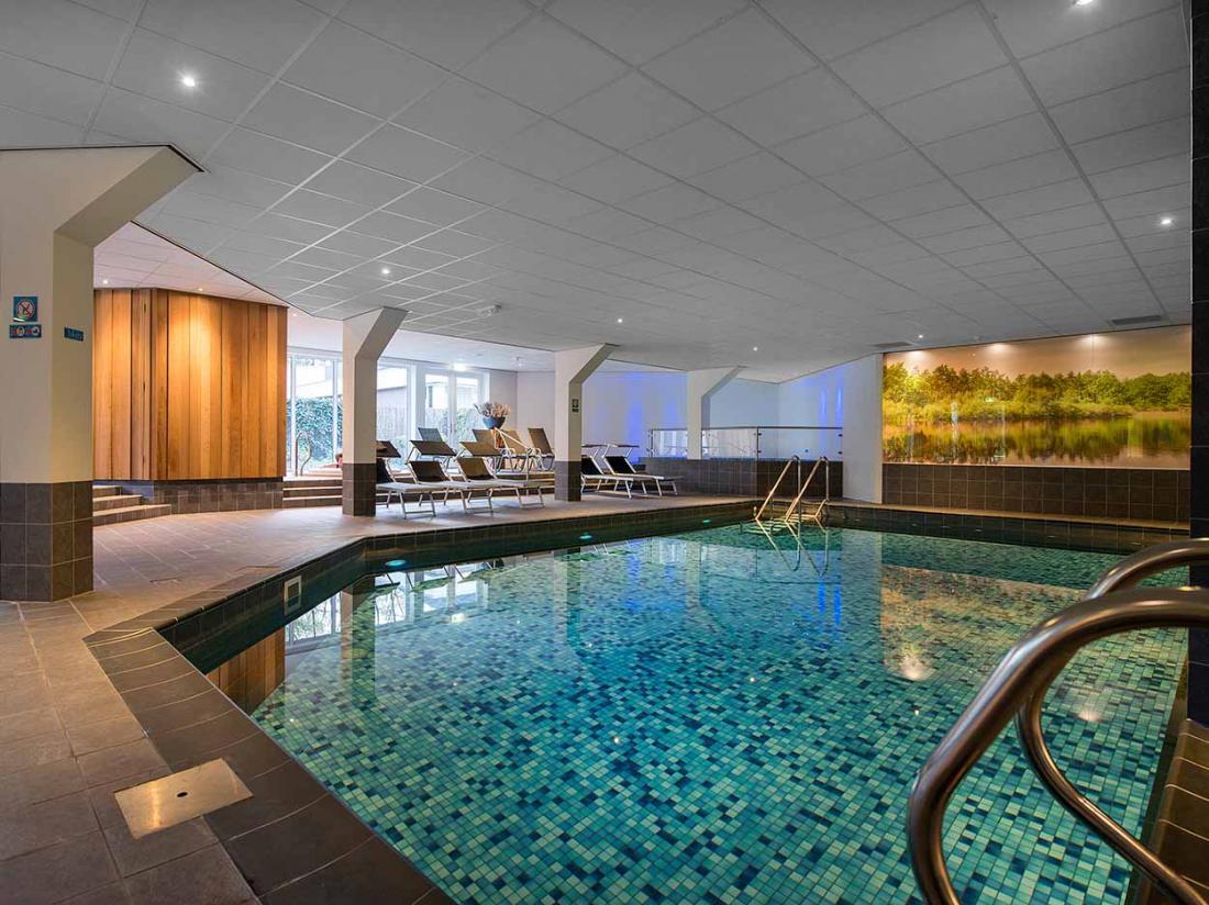 Boshotel Vlodrop Limburg Interieur Zwembad