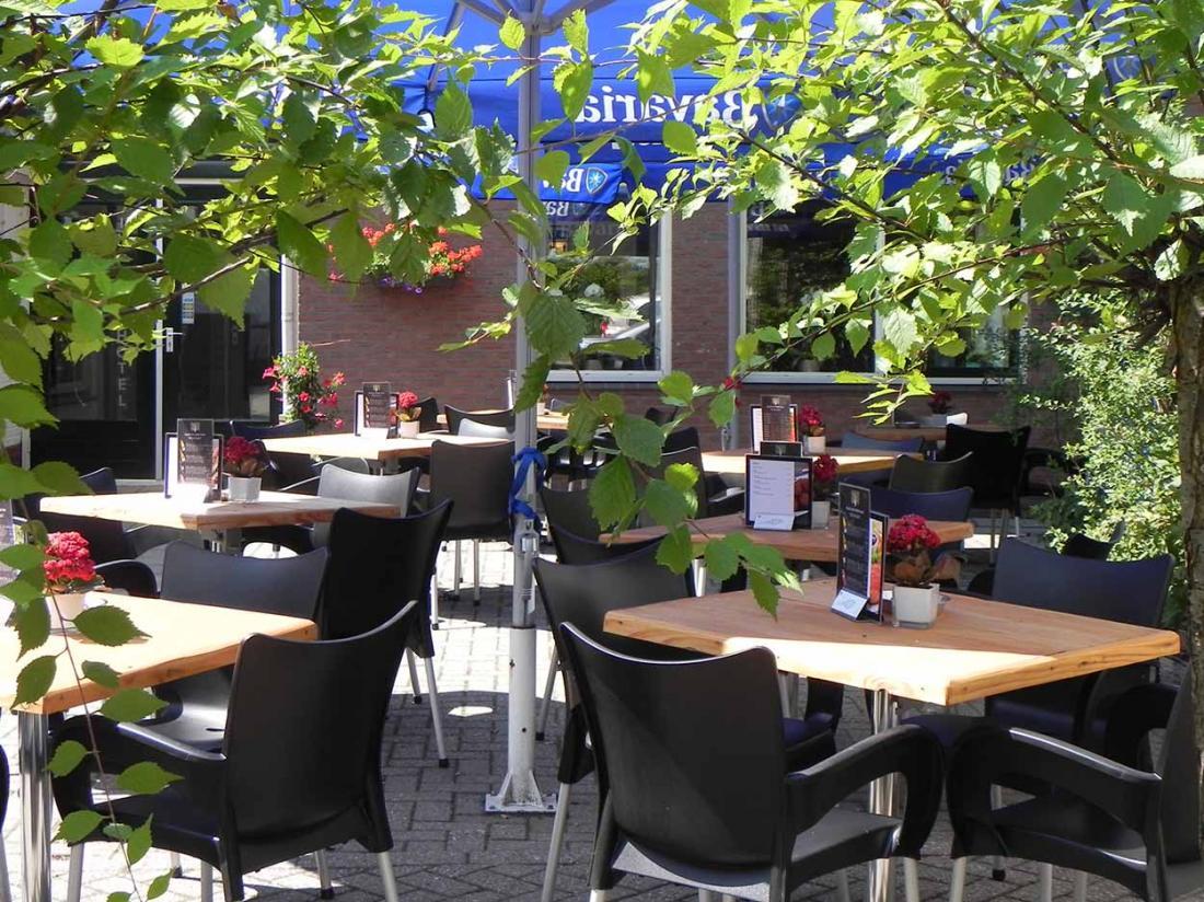 Hotel Witteveen Drenthe TerrasPlanten