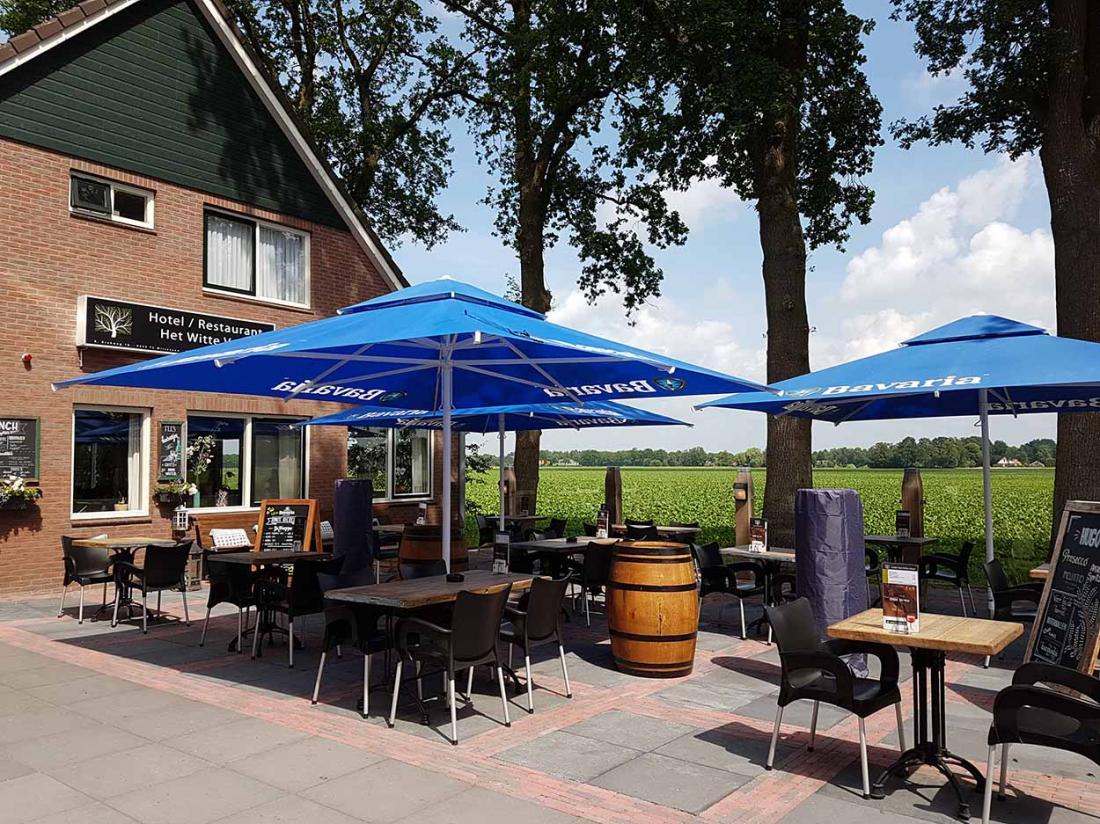 Hotel Witteveen Drenthe TerrasZomer