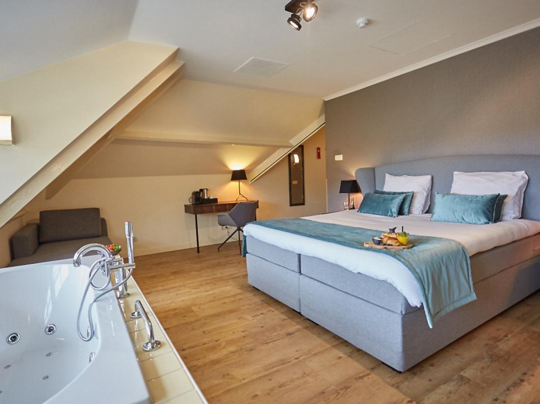 Landgoed de Uitkijk Hellendoorn Hotelkamer