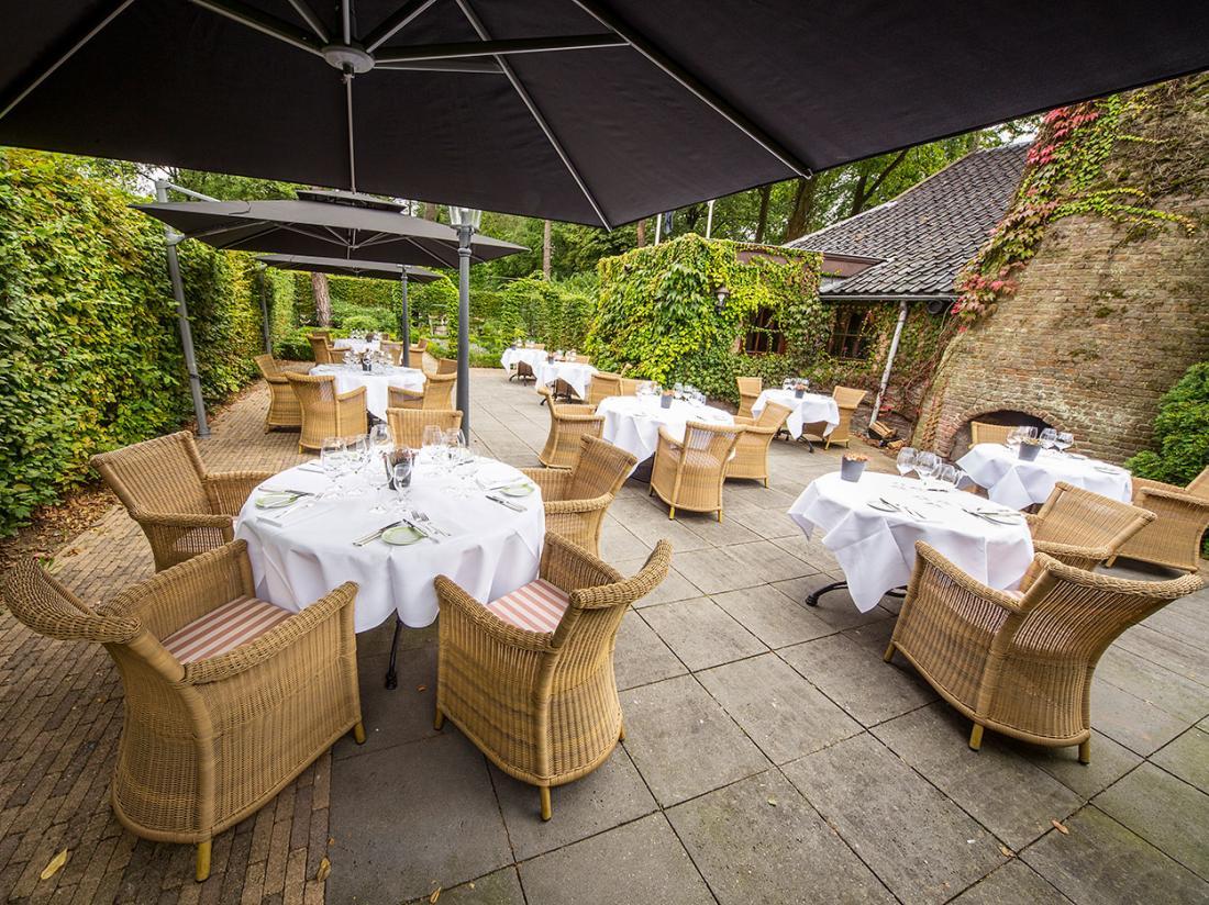 Hotelarrangement Klein Zwitserland Heelsum Restaurant Terras