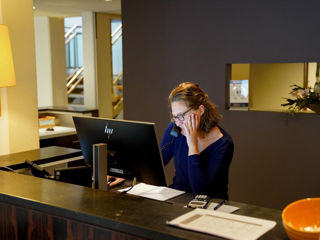 Resort Bad Boekelo Hotel Receptioniste