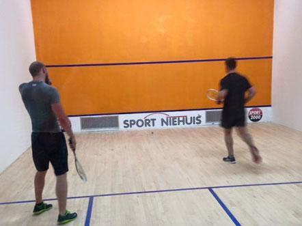 Weekendjeweg dS Hotel Freizeitcenter Vreden Duitsland Squash