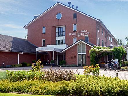 Fletcher Hotel Restaurant Heidehof Heerenveen aanzicht