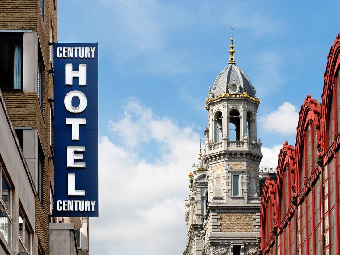 Hotelaanbieding Antwerpen Exterieur