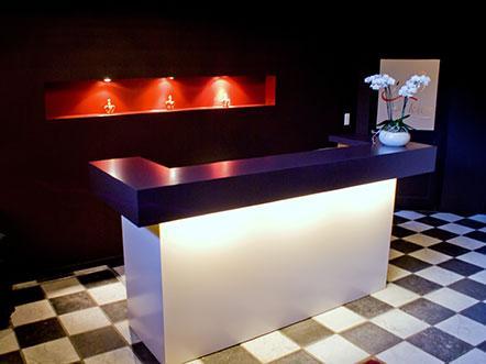 Hotelaanbieding Lichtaart Vlaanderen receptie
