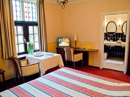 Weekendjeweg Lichtaart Belgie hotelkamer