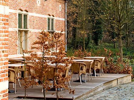 Weekendjeweg Lichtaart Vlaanderen terras