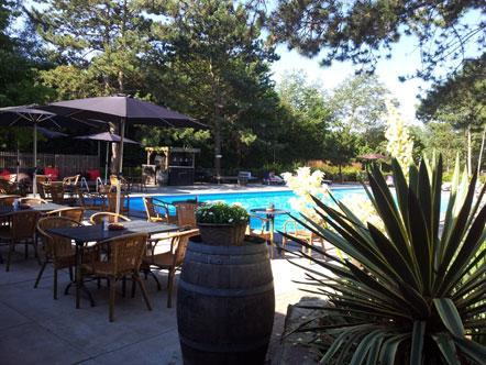 Hotelaanbieding Badhotel Rockanje Zuid Holland Buitenzwembad