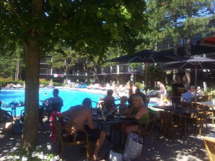Weekendjeweg Badhotel Rockanje Zuid Holland Terras
