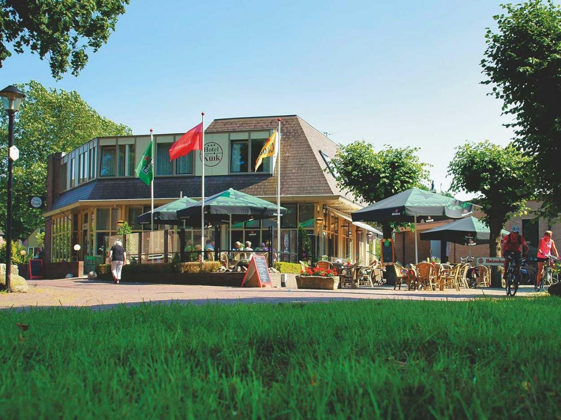 Hotel kuik landschap Dwingelderveld voorkant