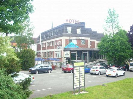 Hotelaanbieding Diemel Marsberg Noordrijn Westfalen Duitsland aanzicht