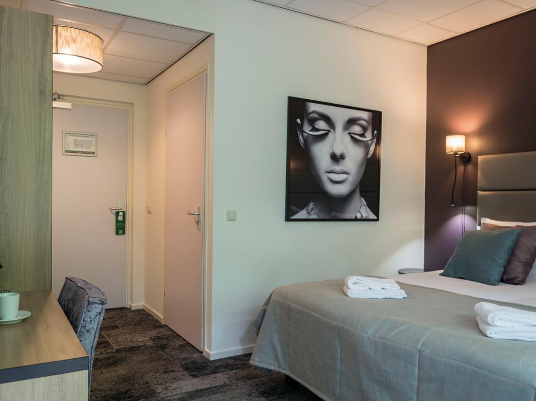 Deluxe kamer met terras