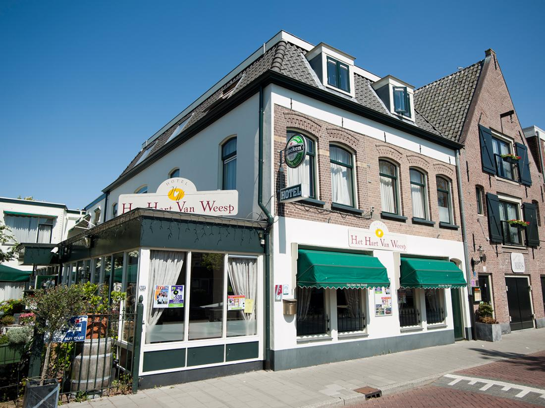 Hart Van Weesp Noord Holland Hotel Amsterdam weekendjeweg aanzicht hotel