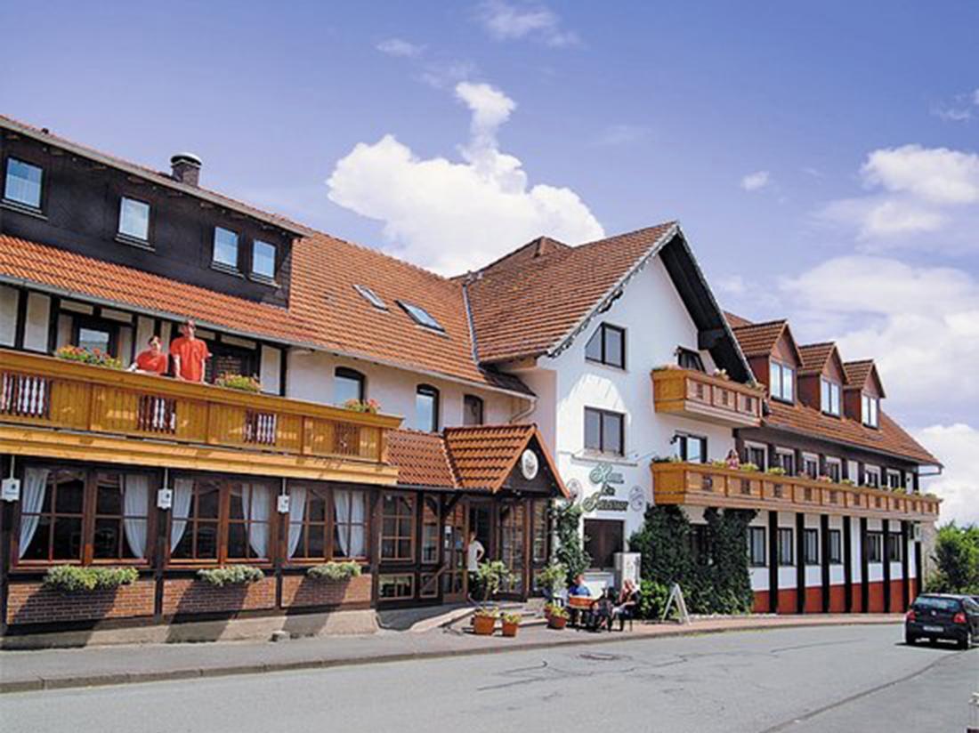 Aanzicht Igelstadt Duitsland Hotel