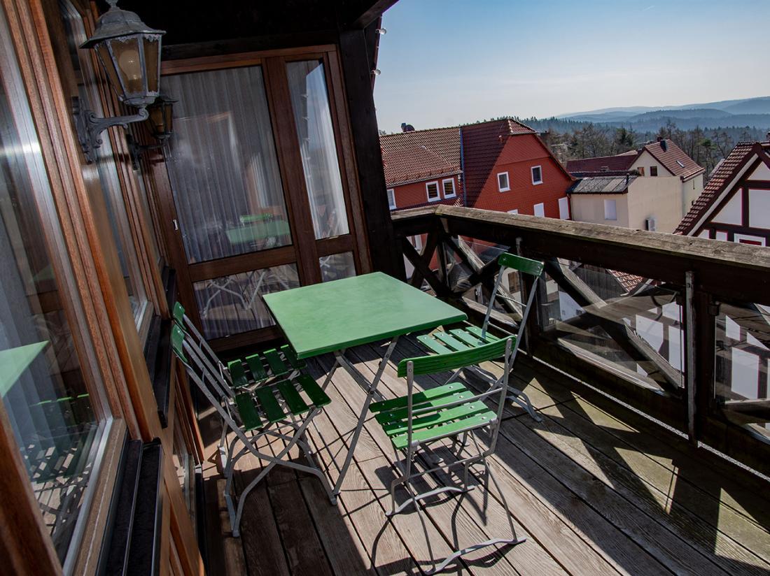 Balkon Hotel Igelstadt Hessen