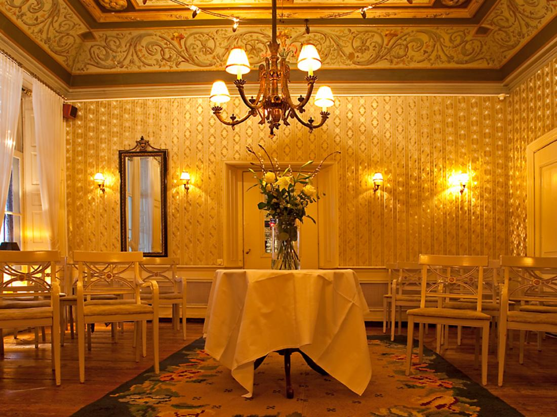 Hotelarrangement groningen bruiloftzaal schimmelpenninck