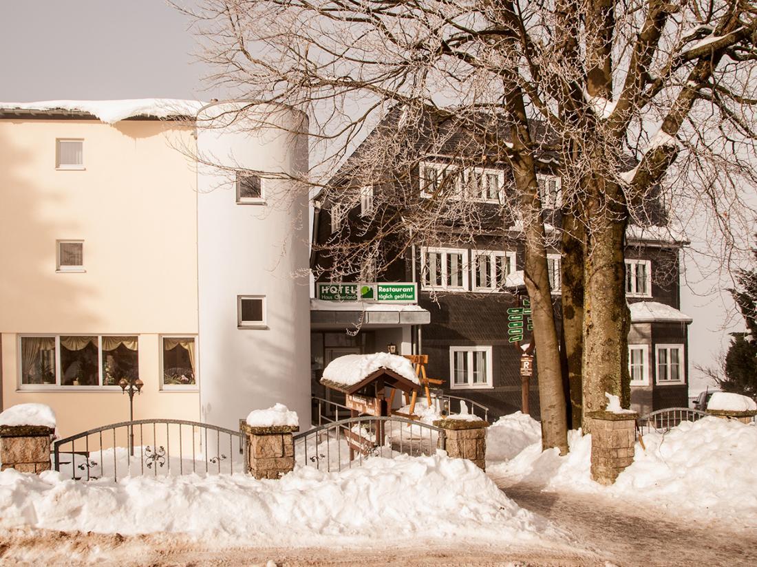 Hotelaanbieding Hotel Haus Oberland Sneeuw