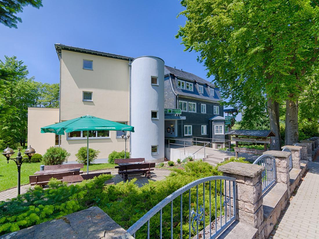 Weekendjeweg Hotel Haus Oberland Voorzijde