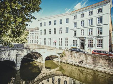 Europ Hotel Brugge aanzicht