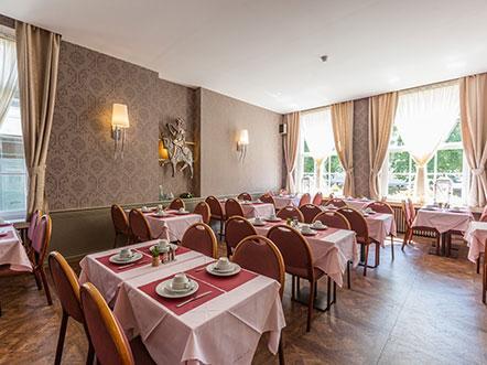 Hotelaanbieding Brugge Ontbijtzaal