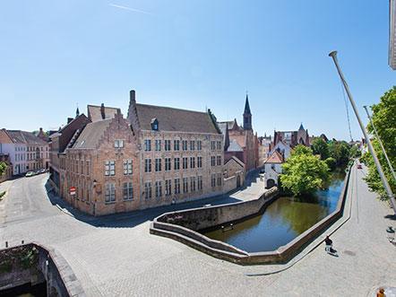 Weekendjeweg Brugge Uitzicht