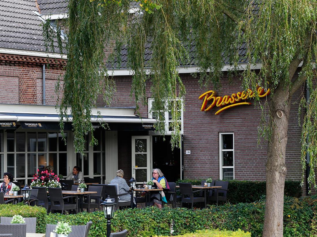 Weekendjeweg Hotel la Sonnerie Terras