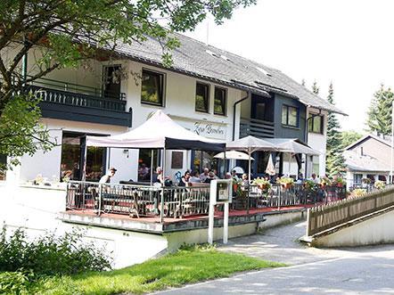 Hotel Zum Paradies Sauerland Willingen aanzicht
