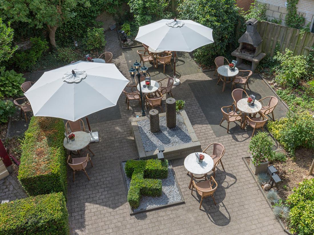 Fletcher Hotel Valkenburg Limburg Terras
