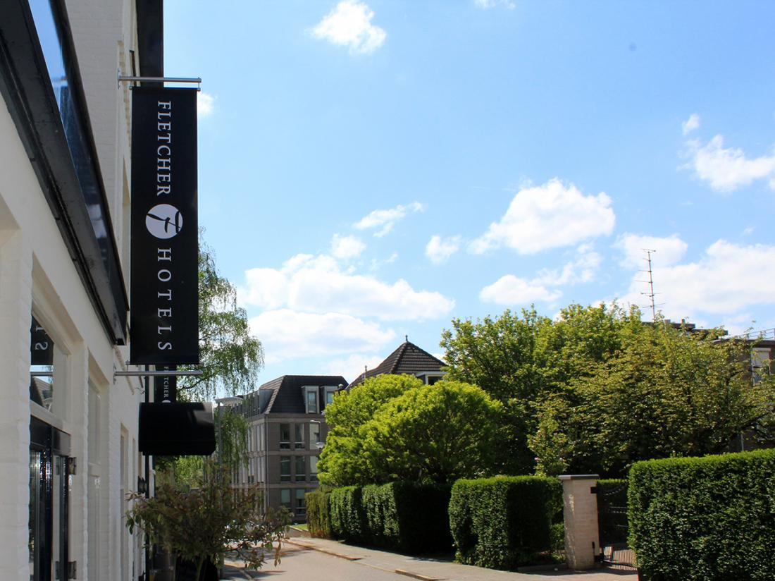 Fletcher Hotel Valkenburg Limburg Vooraanzicht