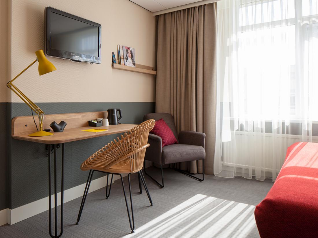 Hotelaanbieding Noordwijk Hotelkamer Landzijde