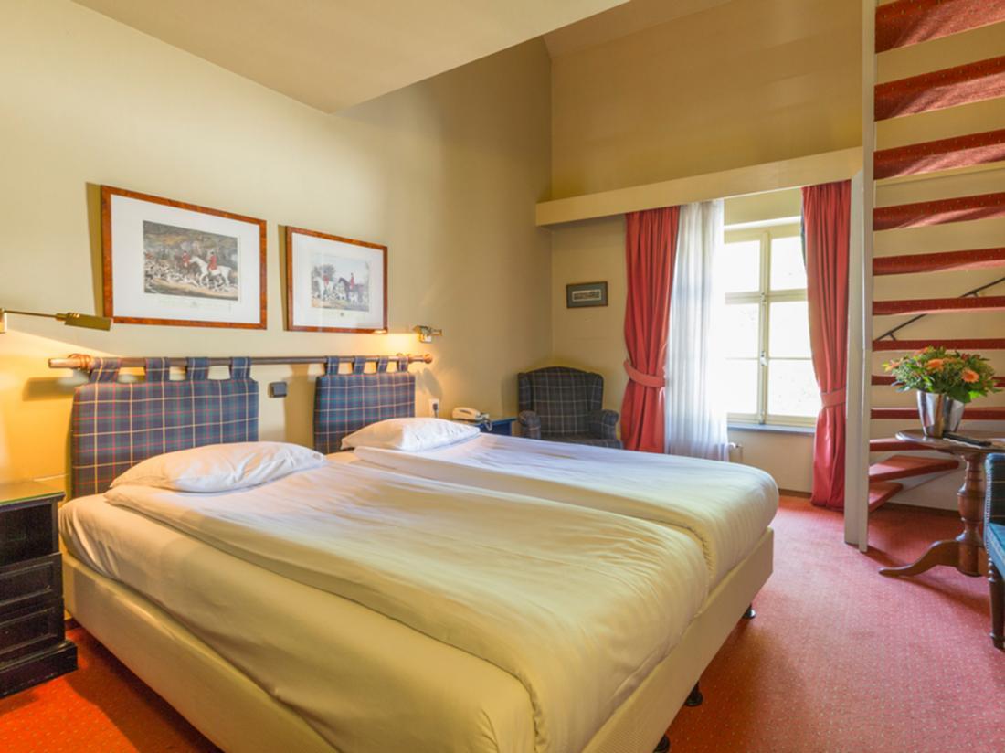 Hotelaanbieding Hotel Kasteel Erenstein hotelkamer