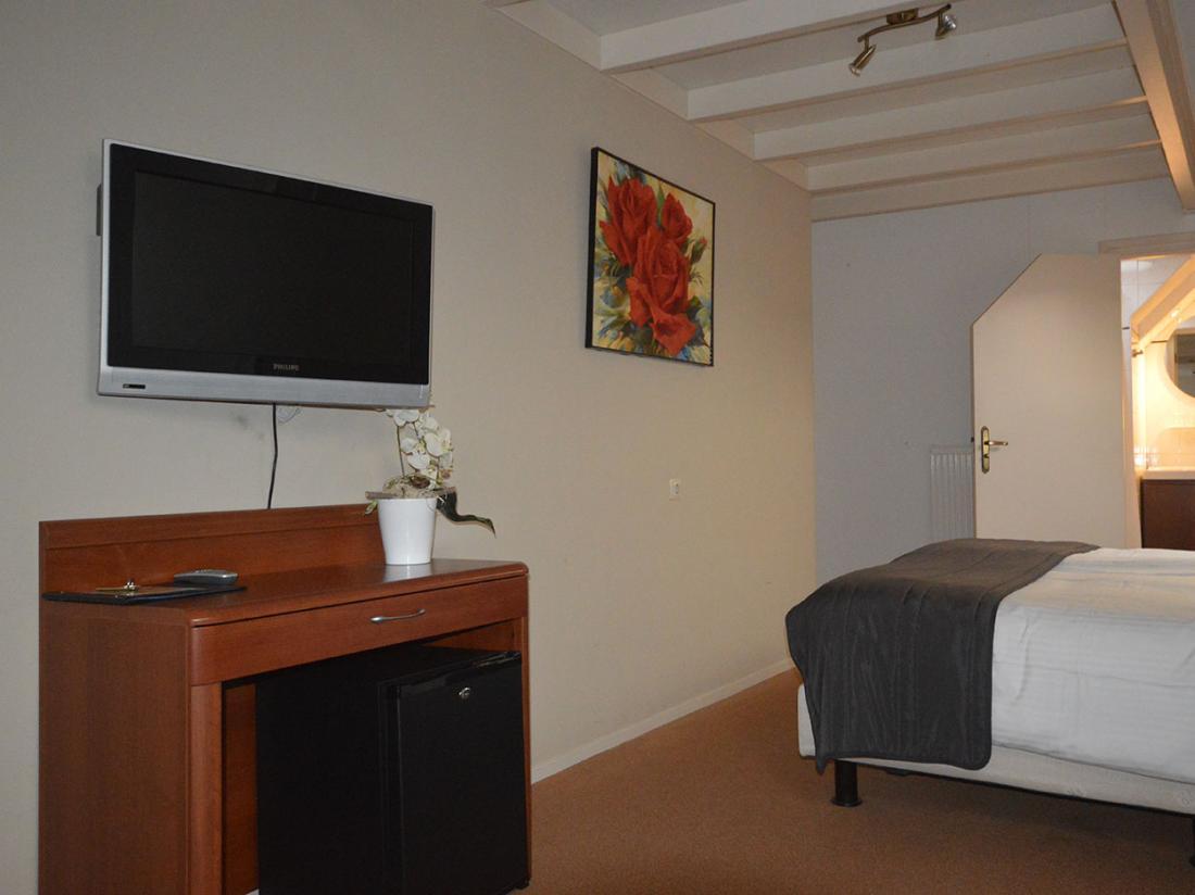 Hotel de rozenstruik hotelkamer