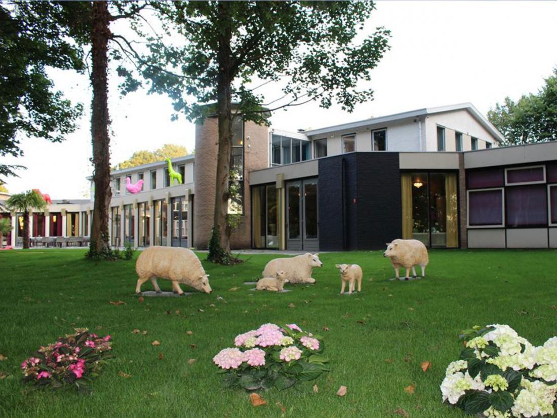 Hotelarrangement Aardenburg Exterieur