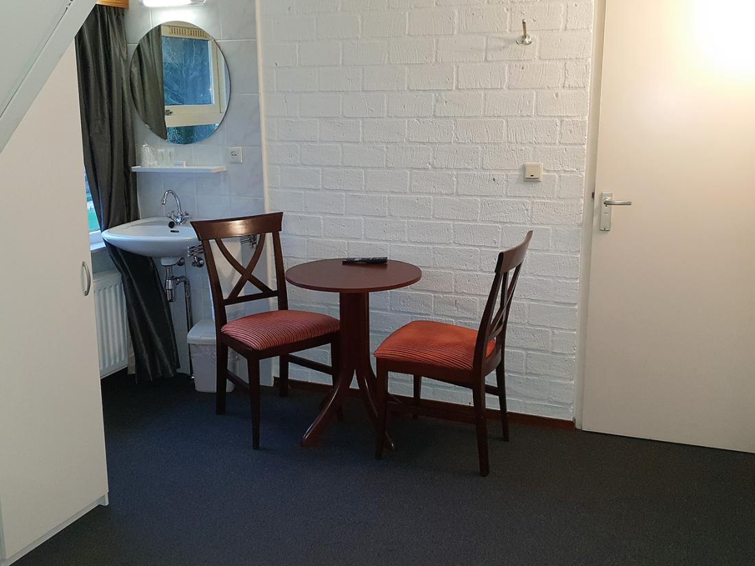 Hotel Wyllandrie Twente Ootmarsum Basic Tweepersoonskamer Zitje
