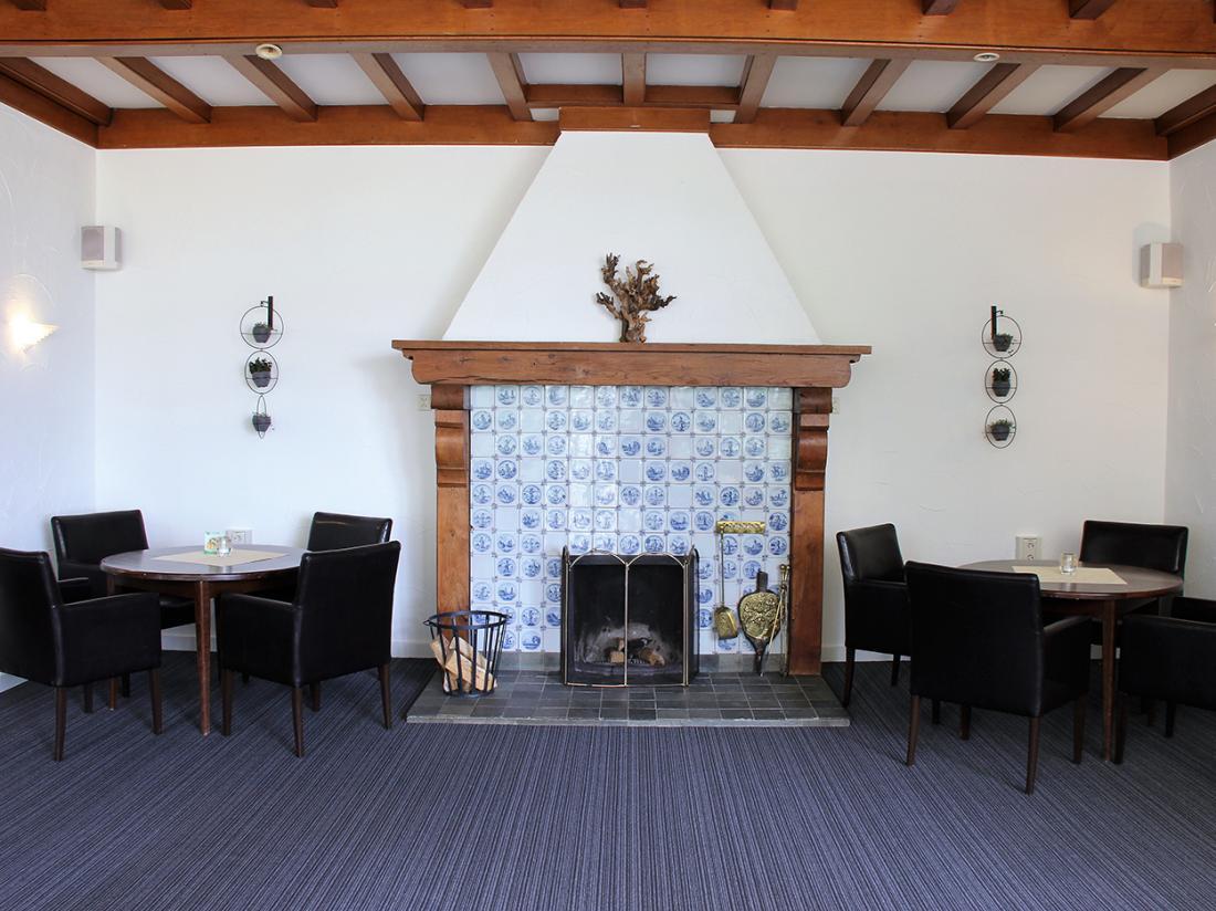 Hotel Wyllandrie Twente Ootmarsum Lounge Haard