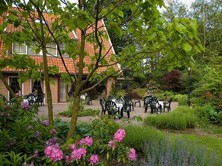 Landhotel de Greune Weide terras